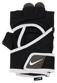 Nike Performance - GYM PREMIUM FITNESS GLOVES - Fingerless gloves - black/white - 2