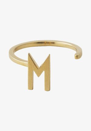 RING M - Ring - gold
