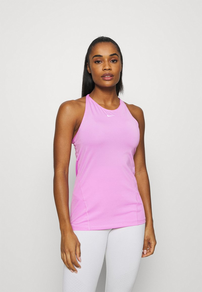 Nike Performance - TANK ALL OVER  - T-shirt sportiva - beyond pink/white