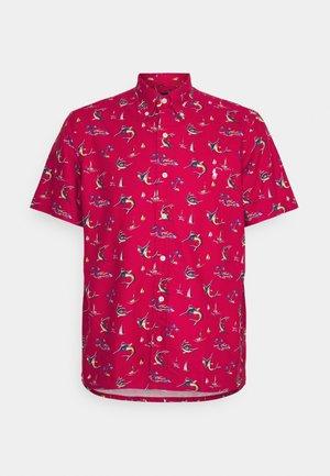 PRINTED OXFORD - Camisa - red