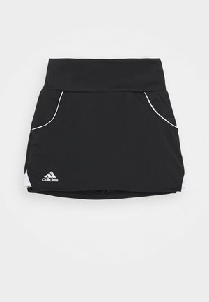 CLUB SKIRT - Sportsnederdel - black/silver/white
