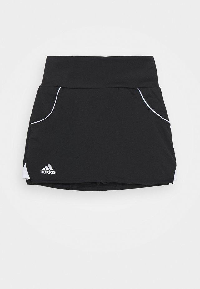 CLUB SKIRT - Gonna sportivo - black/silver/white