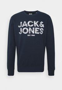Jack & Jones - JJHERO  - Felpa - navy blazer - 4
