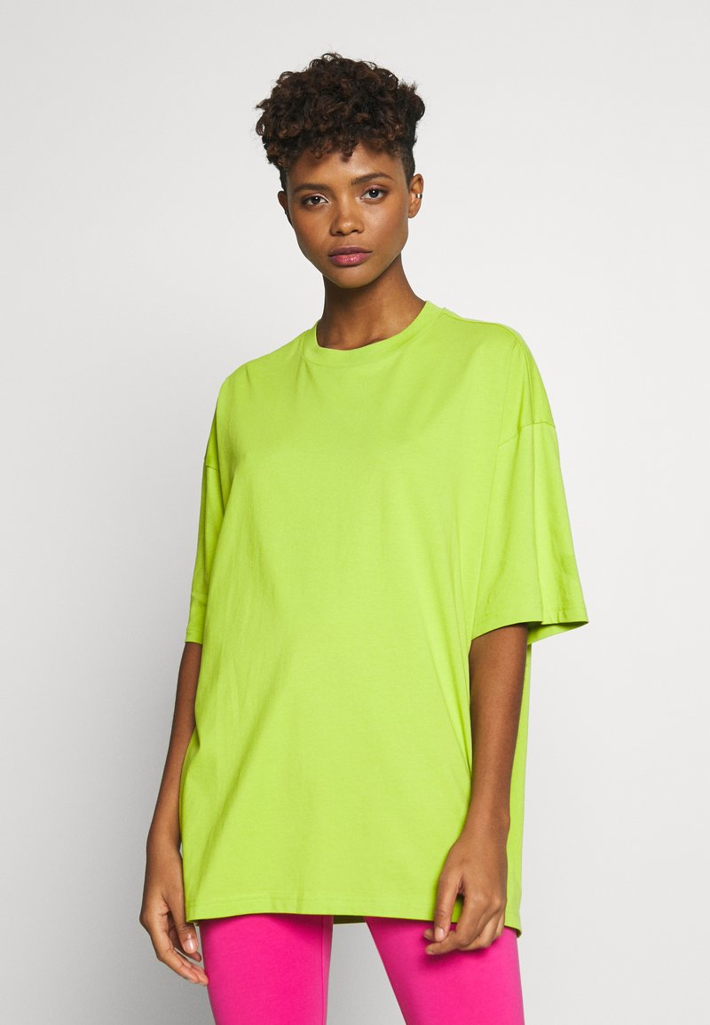 Monki - CISSI TEE  - T-shirts - lime green