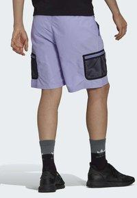 adidas Originals - Shorts - purple - 2