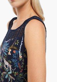 s.Oliver - Day dress - dark blue floral aop - 5