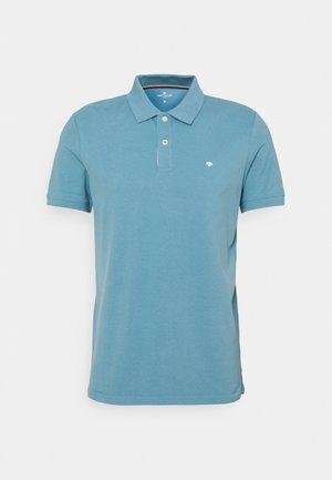 BASIC WITH CONTRAST - Polo shirt - smokey aqua