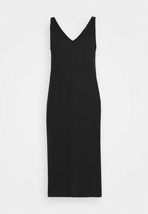 DRESS YAEL - Žerzejové šaty - black