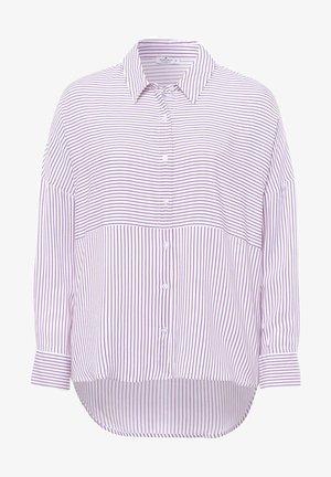 Button-down blouse - lavender