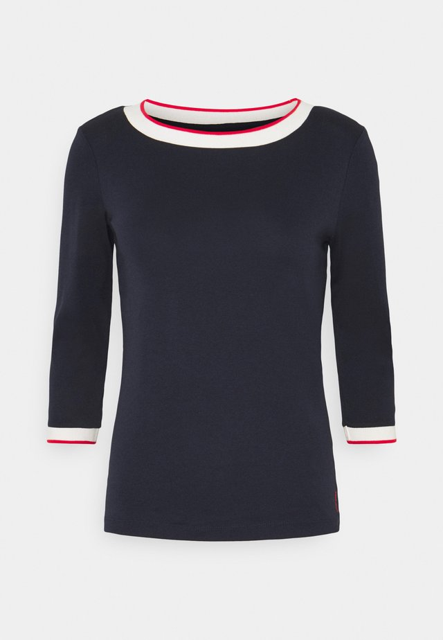 SOLID TEE - T-shirt à manches longues - navy