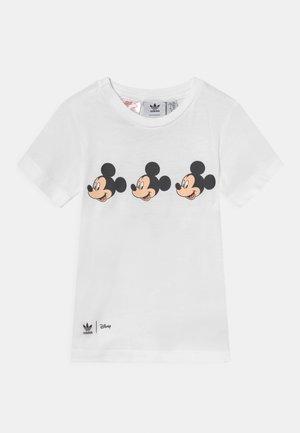 ADICOLOR LOOSE UNISEX - T-shirt imprimé - white