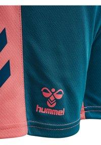 Hummel - ACTION  - Shorts - blue coral/tea rose - 3