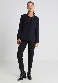 J.CREW PETITE - CAMERON SEASONLESS STRETCH - Trousers - black - 1
