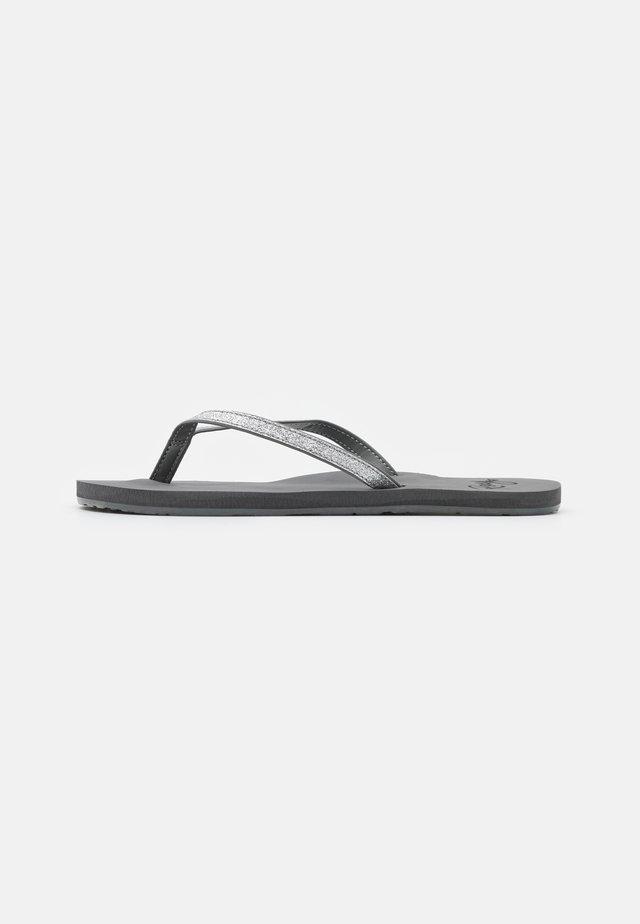 NAPILI - Sandály s odděleným palcem - charcoal