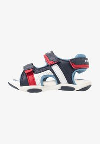 Geox - AGASIM BOY - Walking sandals - navy/dark sky - 1