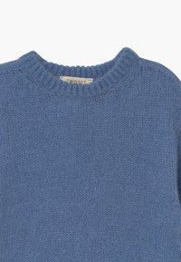 TWINSET - MAGLIA MIX - Jumper - blue denim - 2