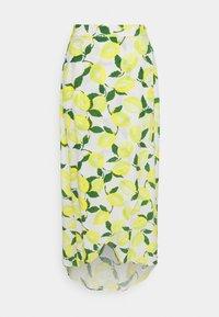 CORA SKIRT - Wrap skirt - yellow