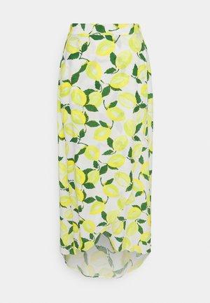 CORA SKIRT - Zavinovací sukně - yellow