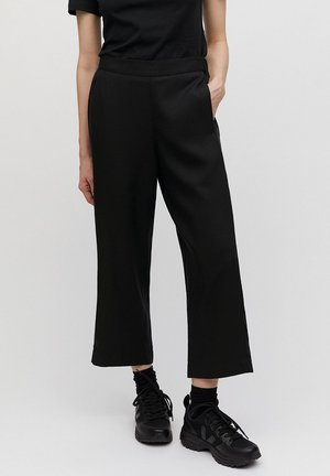 KAMALAA - Trousers - black