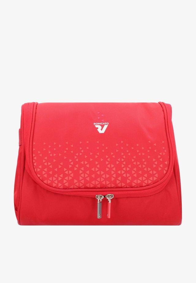 CROSSLITE - Wash bag - rosso