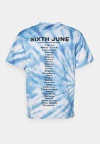 Sixth June - TIE DYE TEE - Camiseta estampada - blue - 1