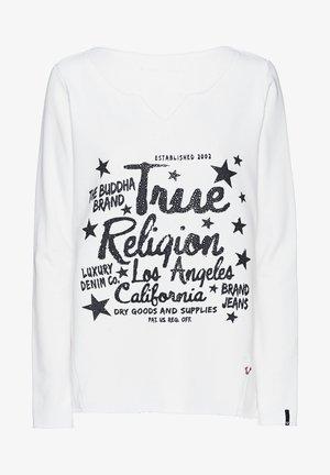 RELAX - Sweatshirt - blanc