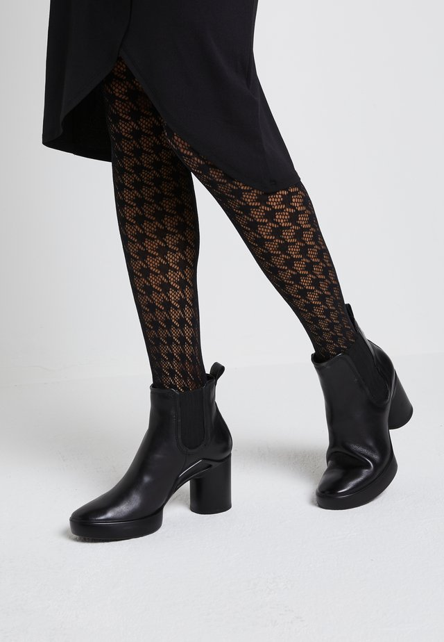 SHAPE SCULPTED MOTION  - Platform ankle boots - black