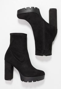 Bullboxer - High heeled ankle boots - black - 3