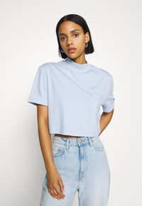 Even&Odd - Basic T-shirt - blue - 0