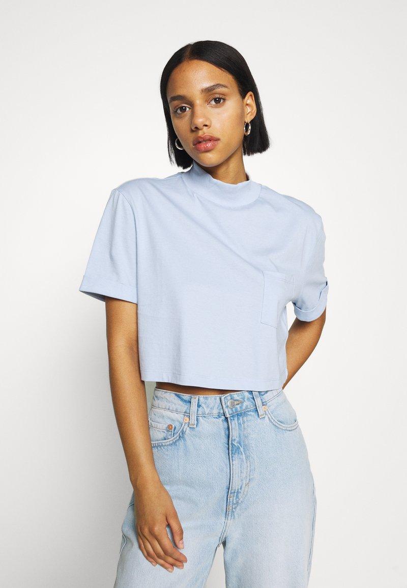 Even&Odd - Basic T-shirt - blue