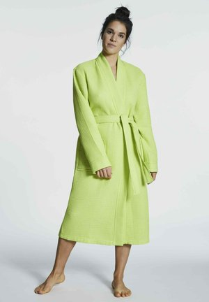 Dressing gown - wild lime