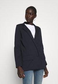 Missguided Tall - Short coat - navy - 0