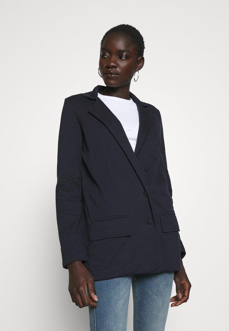 Missguided Tall - Short coat - navy