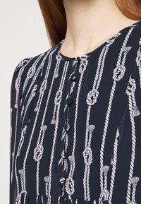 MICHAEL Michael Kors - SAPCED SAILOR STRIPE - Day dress - midnight blue/white - 6