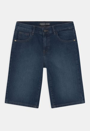 CORE JUNIOR  - Jeans Short / cowboy shorts - middle blue wash