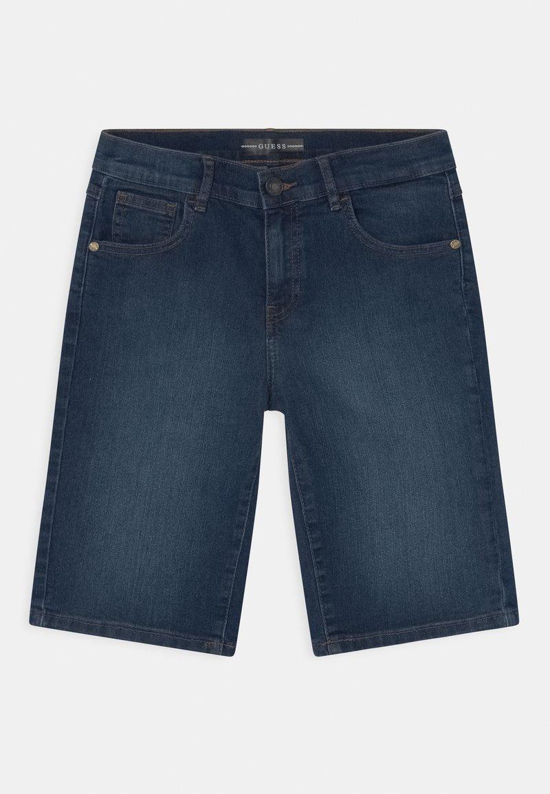 Guess - CORE JUNIOR  - Jeans Short / cowboy shorts - middle blue wash