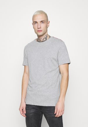 ELMIRA - Basic T-shirt - light grey marl