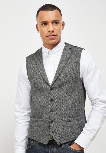 BLEND WAISTCOAT - Suit waistcoat - grey