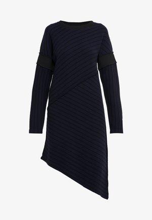 Vestido de punto - dark blue/back