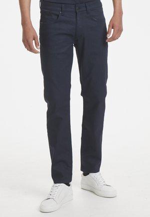 PRISTON - Slim fit jeans - dark denim