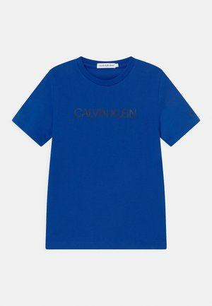 INSTITUTIONAL - Print T-shirt - blue