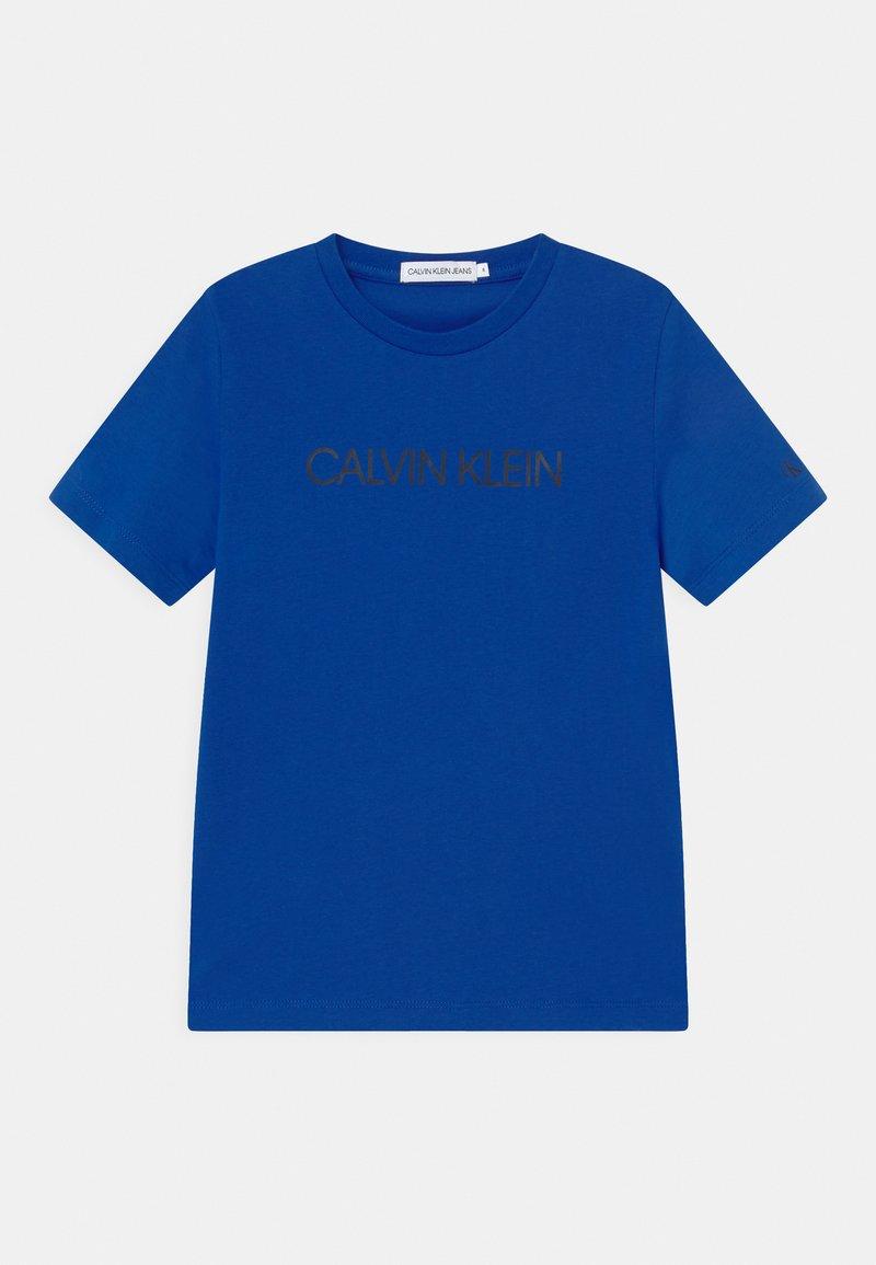 Calvin Klein Jeans - INSTITUTIONAL - Print T-shirt - blue