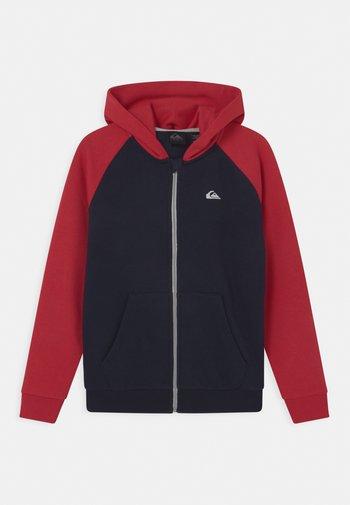 EASY DAY ZIP YOUTH - Zip-up sweatshirt - navy blazer