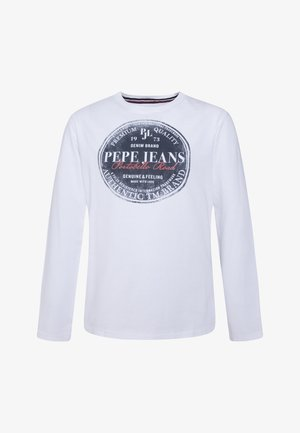 JAMESS - Long sleeved top - optic weiss
