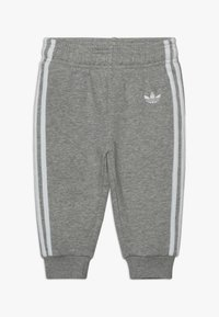 adidas Originals - OUTLINE HOODIE SET - Træningssæt - medium grey heather/white - 2
