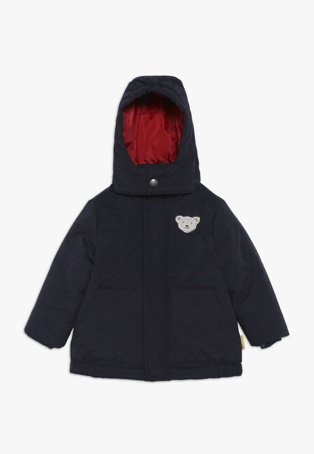 BOYS COAT BABY - Giacca invernale - blue