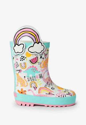 HANDLE - Botas de agua - multi-coloured