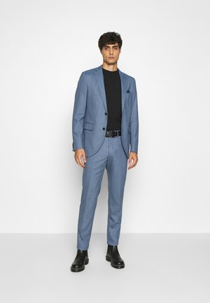 BLUE STRUCTURE SLIM FIT SUIT - Suit - mediterranien blue