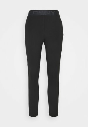 FOUNDATION LOGO - Leggings - Trousers - black