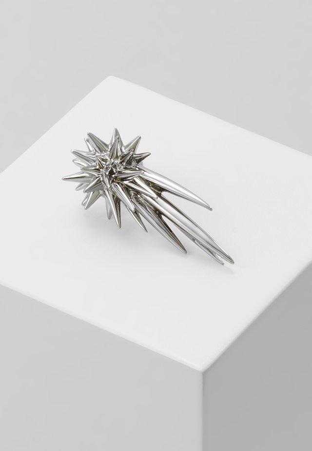 GIANT COMETE  - Earrings - gunmetal